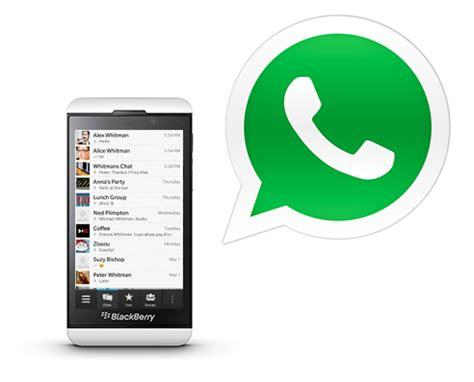 descargar whatsapp para blackberry 10tododescarga