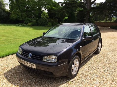 vw golf mk4 1 6 2003 in blandford dorset gumtree