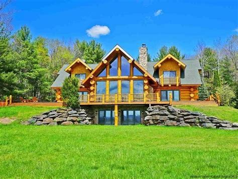 awesome log cabins  sale upstate ny  home plans design