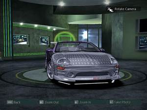 Need For Speed Carbon Mitsubishi Eclipse GTS Spyder 2F2F