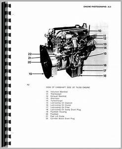 Massey Ferguson 394f Engine Service Manual
