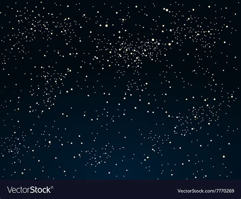 Starry Sky Image by Background Starry Sky Eps 10 Royalty Free Vector Image