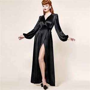 dita von teese black dahlia deshabille noir deshabilles With dita von teese robe