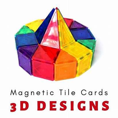 Tiles Magna Magnetic Adventure Cards Idea Creative