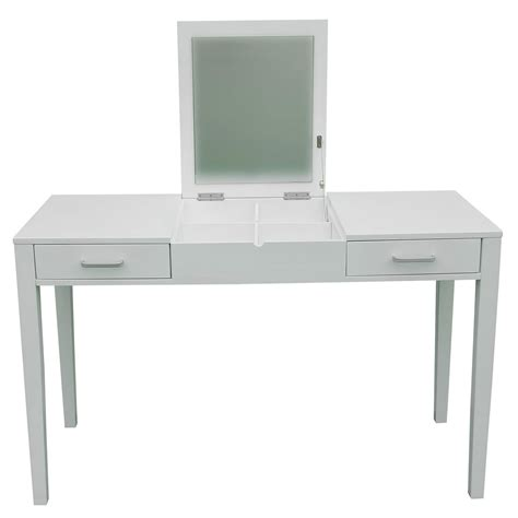 makeup desk with 47 quot l vanity makeup dressing table desk make up lift top