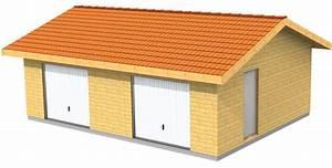 Garage Ossature Bois : plan garage ossature bois pour un garage deux places ~ Melissatoandfro.com Idées de Décoration