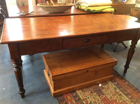 antique harvest table for collectivator pine harvest table 7475