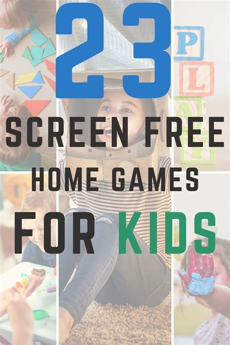 23 Screen Free Indoor Home Games For Kids Fit Mommy Blog
