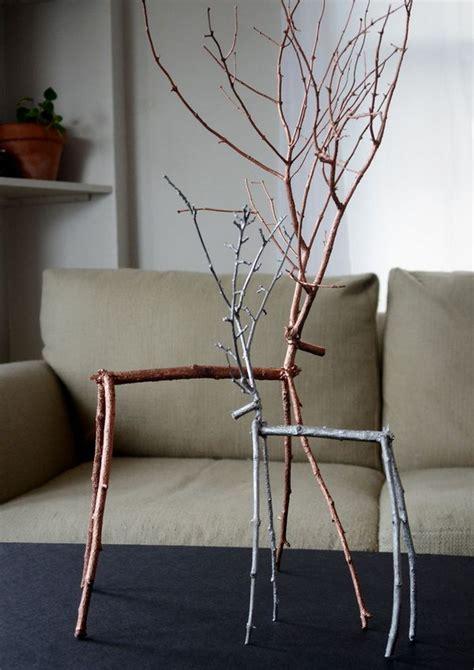 diy ideas  twigs  tree branches hative