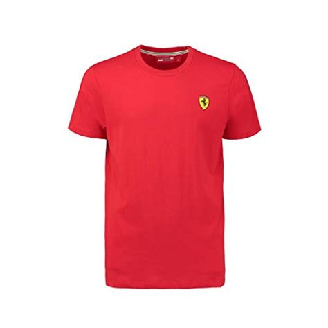 100% licensed merchandise from mercedes, red bull, ferrari, sahara force india and more. Scuderia Ferrari Men's Classic Crew T-Shirt | Red | 2019 | - Formula 1 Merchandise Store | F1 ...