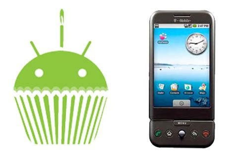 android 1 5 cupcake now available for g1 smartphones mobiletor com