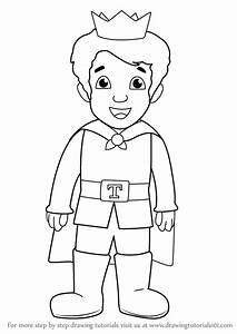 Learn How to Draw Prince Tuesday from Daniel Tiger's ...