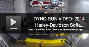 2014 Harley Davidson Softail Deluxe Dyno Run Video