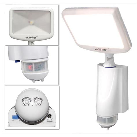 eleding 180 degree solar cree led outdoor smart true dusk