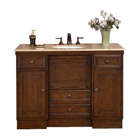 sink vanity top 48 shop silkroad exclusive walnut undermount single