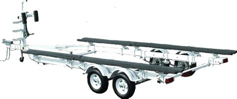 Tritoon Boat And Trailer Weight by Pontoon Ez Loader Custom Adjustable Boat Trailers