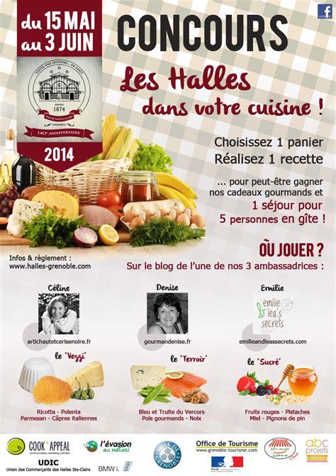 concours de cuisine concours de cuisine pour les halles sainte de grenoble