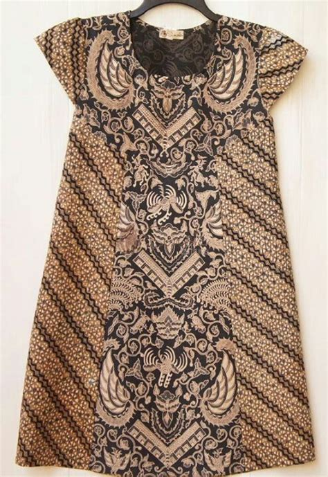 dress batik lawasan batik indonesia pinterest