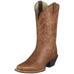 womens cowboy boots sale 39 s ariat 11 quot legend cowboy boots russet 282499 cowboy