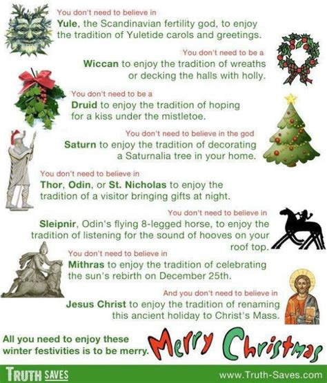 the pagan roots of christmas religion poisons