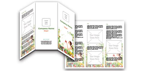Free Brochure Design Templates Word by Free Brochure Templates For Microsoft Word