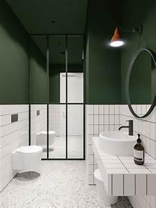 Dekoration Gäste Wc : pin von adreano dischert auf badezimmer pinterest badezimmer badezimmer gr n und bette ~ Buech-reservation.com Haus und Dekorationen