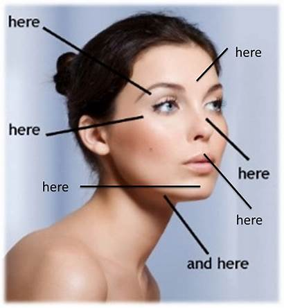 Highlight Areas Face Makeup Ashes December Features