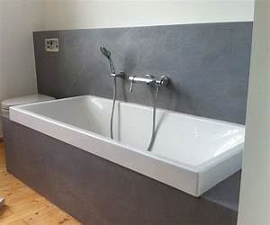 Stein Putz Bad : fugenlose b der in wasserfestem putz modern badezimmer k ln von verwandlung remmers ~ Sanjose-hotels-ca.com Haus und Dekorationen