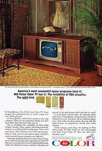 Rca Color Television  1965