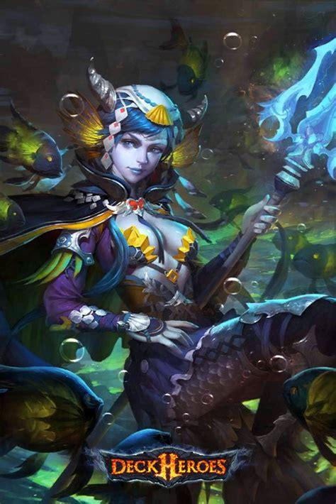 tidal siren deck heroes wiki fandom powered  wikia