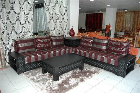 cuisine marocaine en décoration salon marocain