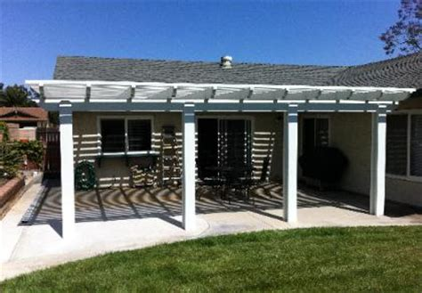 alumawood do it yourself patio cover kits awnings