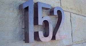 address numbers letters house number signs impact signs With stainless steel address numbers and letters