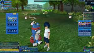 Digimon Masters line Clienttml