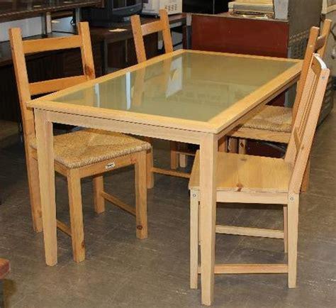 table de cuisine ikea bois meubles usagés pour étudiants la cohuela cohue