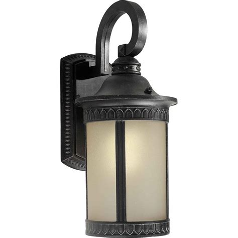 filament design burton 1 light bordeaux outdoor compact