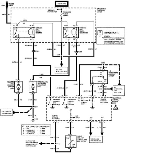 1994 Chevy Camaro Wiring Diagram by Cooling Fan Wiring I A 1994 Camaro That When I