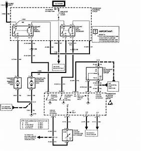 Cooling Fan Relay 1 Control Circuit
