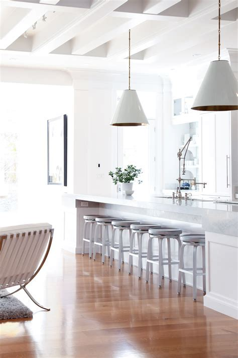White on White Kitchen   Benjamin Blackwelder Cabinetry