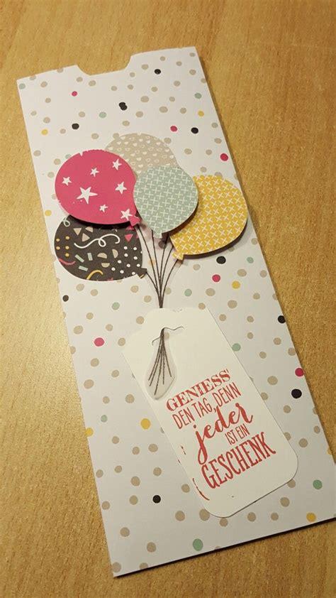 einfaches selbstgemachtes geschenk eine kleine einfache verpackung f 252 r konzertkarten eintrittskarten selbstgemachtes