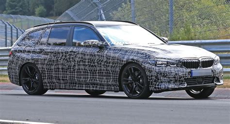 2019 Bmw 3series Touring Spied Looking Like A Little 5er