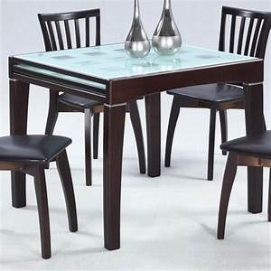 Alluring expandable dining tables for small spaces for Expandable dining table for small spaces