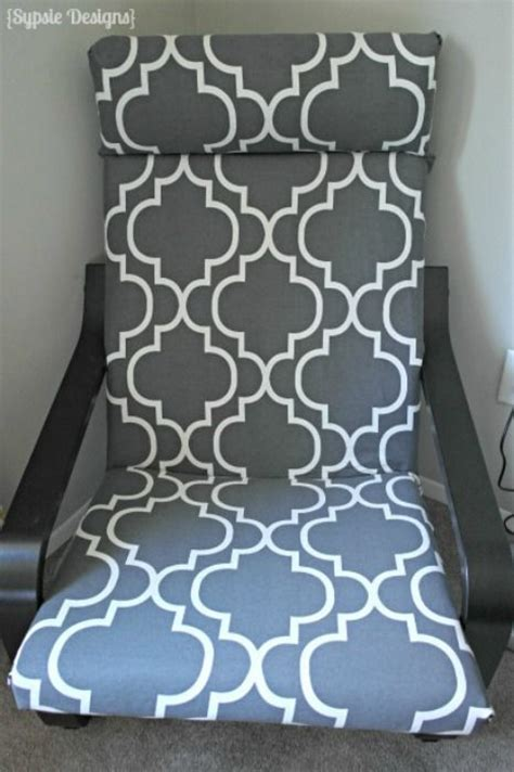 ikea poang chair cover diy 1000 ideas about housse pour fauteuil on
