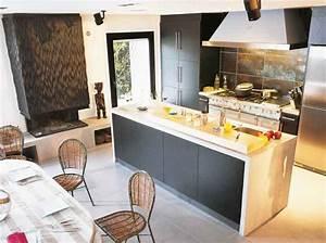 un ilot de cuisine pour tous les styles le journal de la With meuble de cuisine ilot central 8 ilot central cuisine industriel belle cuisine nous a
