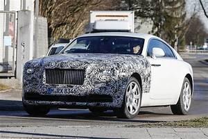 Rolls Royce Wraith : rolls royce wraith series ii spy shots gtspirit ~ Maxctalentgroup.com Avis de Voitures