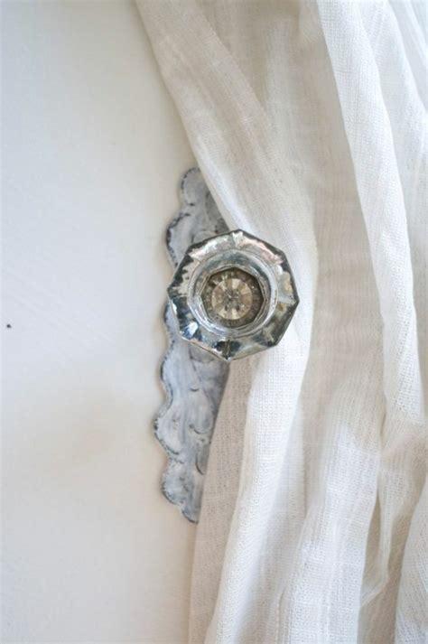 embrasse rideau  modeles originaux pour une decoration