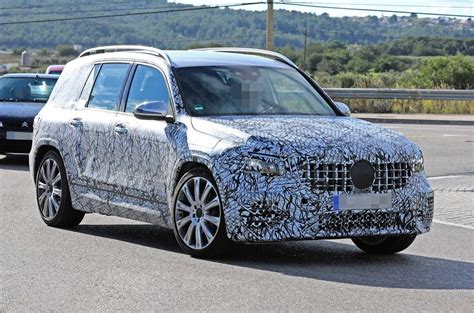 A 35 amg 4matic os. 2019 Mercedes-AMG GLB 35 caught in first spyshots   Autocar