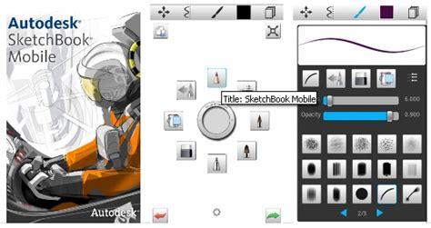 mobile sketchbook sketchbook mobile app for android phones java phones