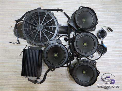 auto lautsprecher bose mercedes w220 bose soundsystem lautsprecher subwoofer