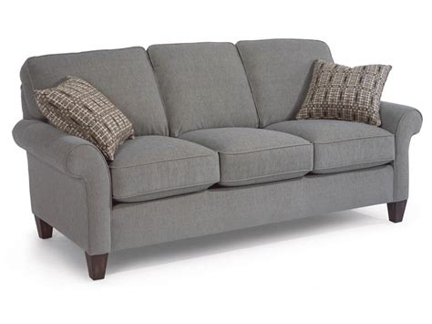 Flexsteel Loveseats by Flexsteel Living Room Fabric Sofa 5979 30 Tin Roof